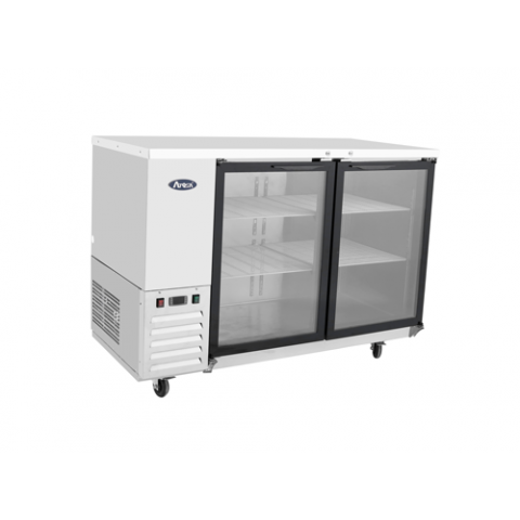 "MBB59G - 59"" Glass Door Back Bar Coolers - Atosa USA"