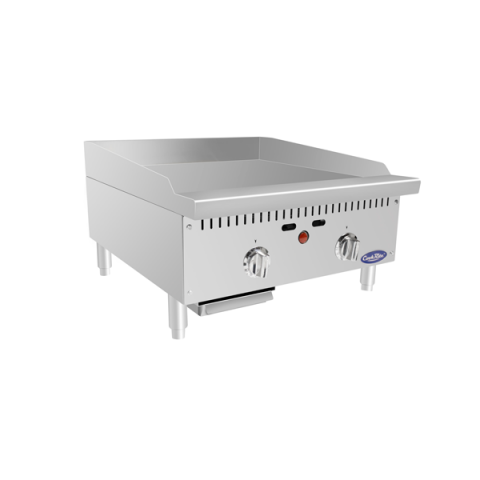 """ATMG-24T - 24"""" HD Thermostatically Controlled Griddle - Atosa USA"""
