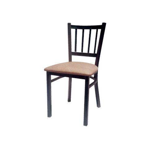 Padded Seat Metal Frame Restaurant Chair