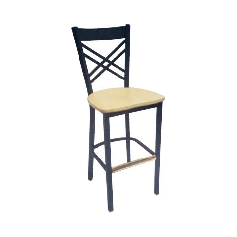 Padded Metal Frame Restaurant Chair
