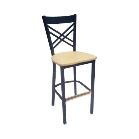 Padded Metal Frame Restaurant Chair