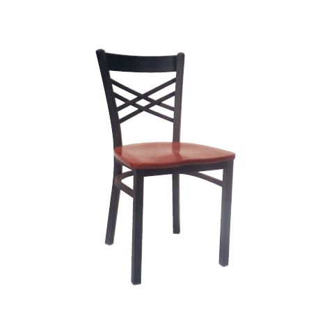 Saddle Wood Restaurant Chair