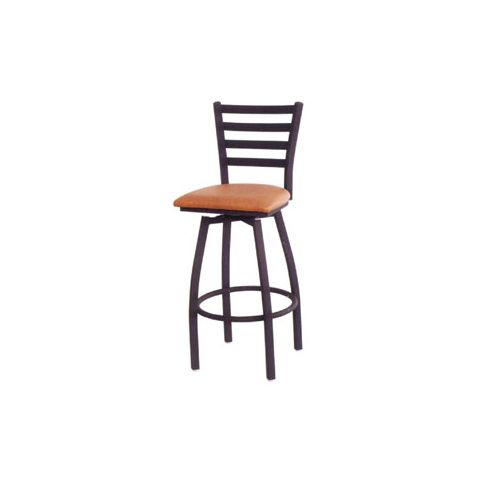 Metal Frame Swivel Padded Restaurant Chair
