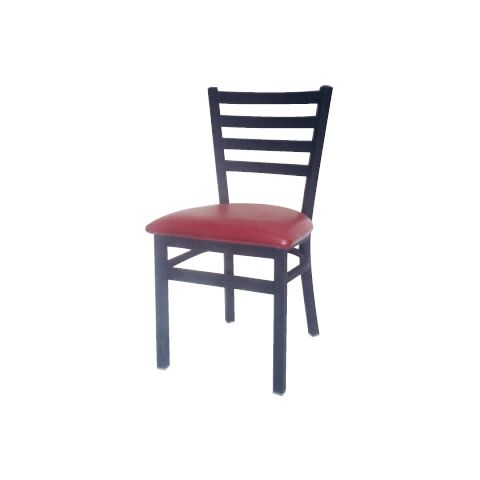 Ladder Metal Frame Padded Restaurant Chair