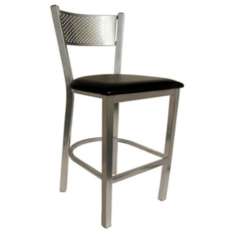 Net Metal Frame Padded Restaurant Chair (High)