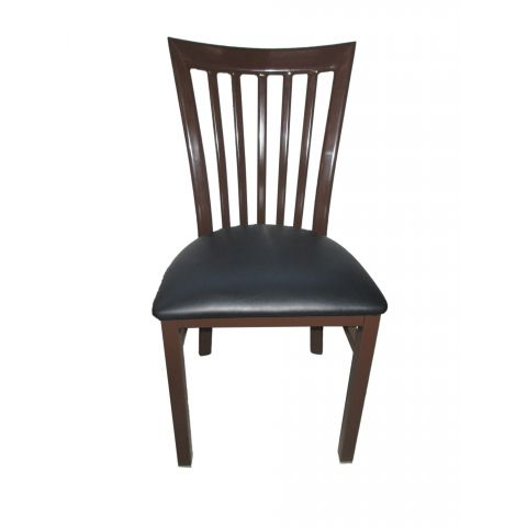 Vertical Metal Frame Restaurant Chair
