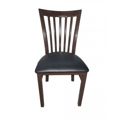 Vertical Metal Frame Restaurant Chair