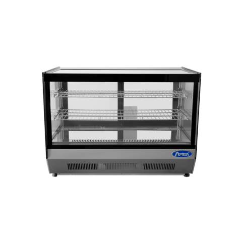 Countertop Refrigerated Display Square 4.2 cu.ft. - Atosa USA
