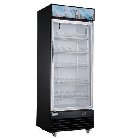 Dukers Bottom Mount One Glass Door Refrigerator - DSM-19R