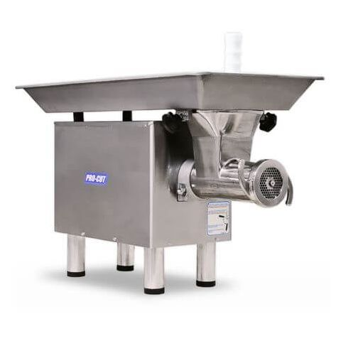 400 lbs/hr Stainless Steel Meat Grinder - ProCut KG-12-SS
