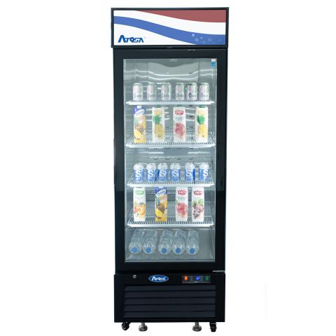 Two Glass Door Refrigerator 19.4 cu.ft. - Atosa USA