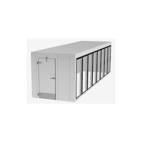 Walk-In 8 Glass Door Cooler/Freezer (PLEASE CALL FOR QUOTATION)