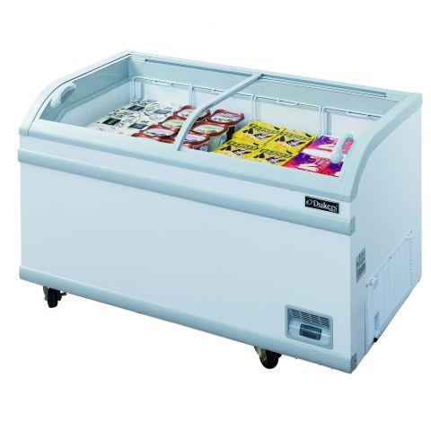 17.6 Cu.Ft. Sliding Glass Chest Freezer - Dukers USA
